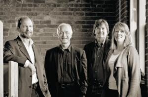 From left: Alan Maskin, Jim Olson, Tom Kundig, and Kirsten R. Murray