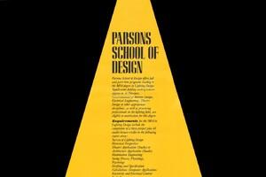Establishment of the Lighting Program at Parsons