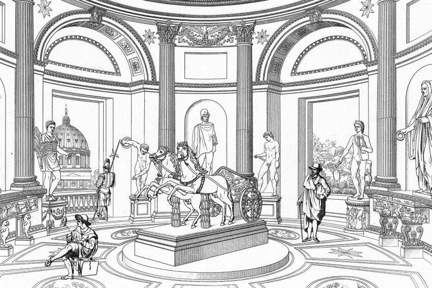 Paul Letarouilly's Vatican Reprinted