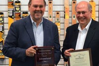 Johnson Level Awarded Mid-Size Business of the Year