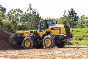 The WA320-8 wheel loader
