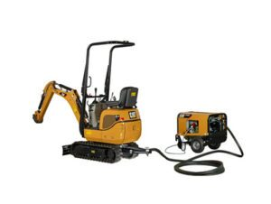 VPS mini hydraulic excavator from Caterpillar