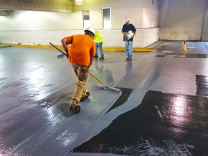 Concrete surface specialists add years of life to healthcare, educational and government buildings, parking structures, and sports stadiums. Photo: Western Specialty Contractors