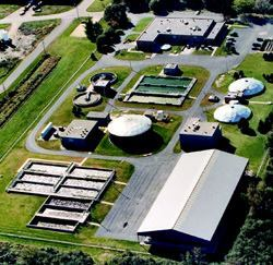 The wastewater treatment plant in Fort Atkinson, Wis., processes 2.7 mgd.