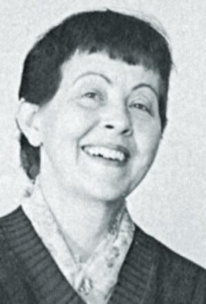 Mary Hurd in 1981 when she was announced as the new editor of Concrete Construction magazine