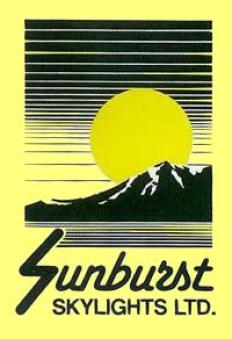 Sunburst Skylights Logo
