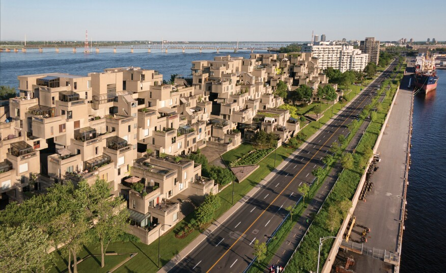 Moshe Safdie And The Revival Of Habitat 67 Architect Magazine Awards Architects