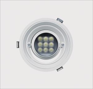 The Quintessence collection of recessed luminaires from Erco encompasses more than 350 productsincluding wallwashers for vertical illumination and fixtures with LEDsall in square and round designs. The line includes many of Ercos newest technologies, such as Spherolit reflectors and lenses, factory-encoded DALI gear, and four-channel varychrome technology for LED downlights with variable lighting color. Lamping options include metal halide lamps, low-voltage halogen lamps, high-pressure sodium vapor lamps, and CFLs. The Quintessence system allows luminaires with a range of different characteristics to be mounted in uniform mounting rings and frames without tools. erco.com/quintessence