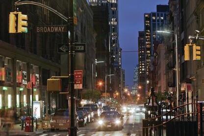 New York City Streetlight