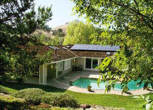 George and Darlene Gayler, of Gayler Construction, participated in a solar installation program and had solar panels installed on their California home.