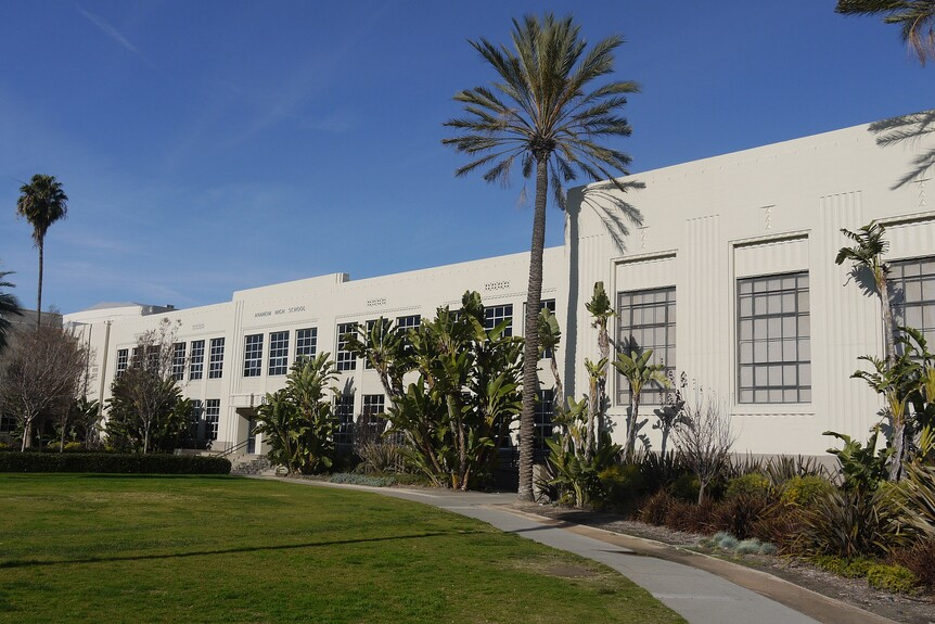 Anaheim High School was first established in 1898.
