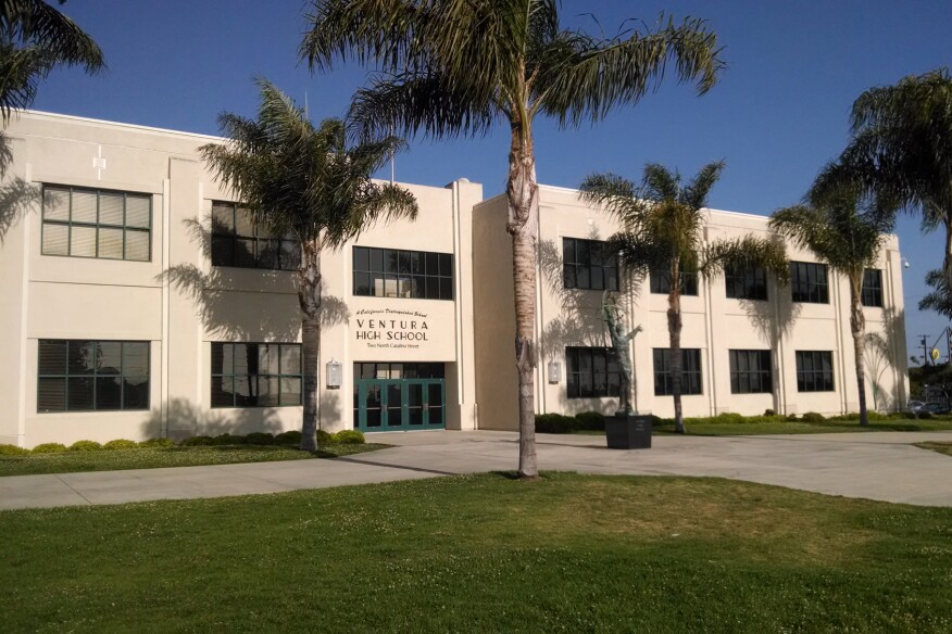 Ventura High School, in Ventura, Calif., was founded in 1889.