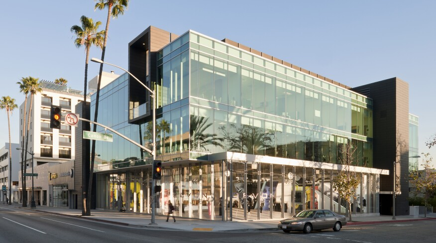 9378 Wilshire Retail and Office Building in Beverly Hills