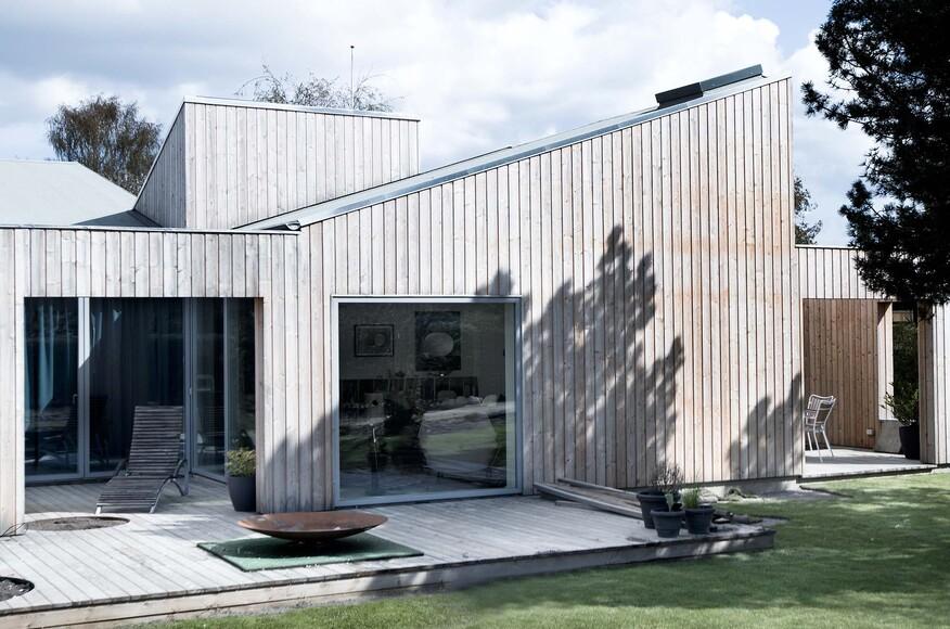 home construction roof roof house architect magazine sigurd larsen copenhagen