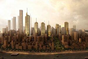 Kohn Pedersen Fox Associates, Chongqing Financial Street master plan