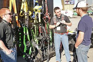Fall Protection Showcase at World of Concrete