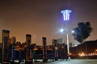 Solar-Powered Streetlight Can Issue Flood Warnings, Kill Mosquitos, and Charge Cell Phones