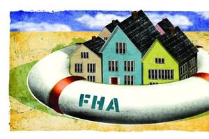 Surge of interest in FHA-insured mortgage loans.