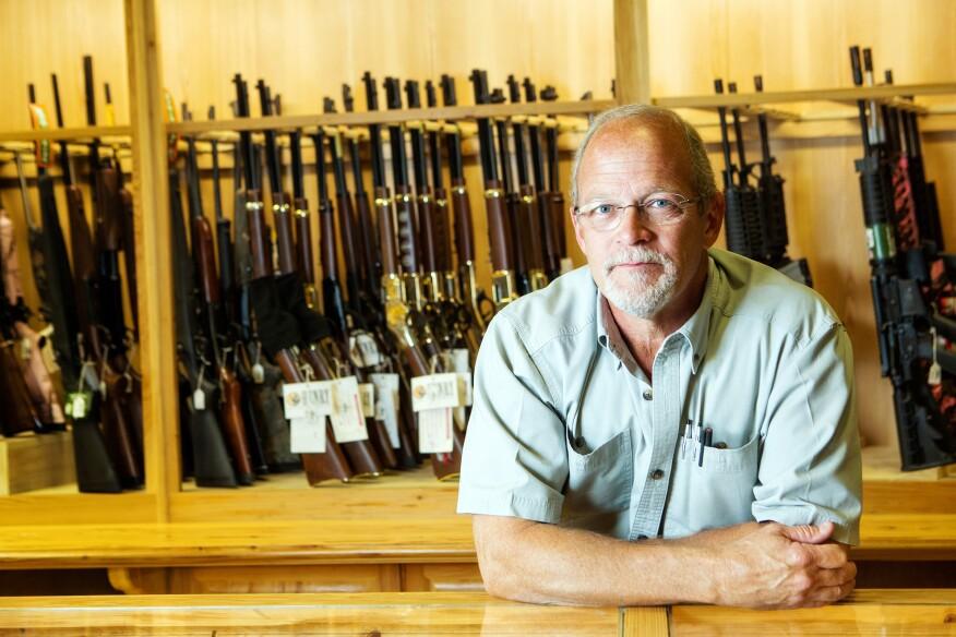 Austin Perkins, owner of St. Landry Lumber