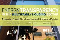 Multifamily Building Stock Could Save $9 Billion With Energy Benchmarking