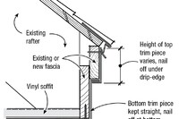 Trim Coil for Vinyl Siding