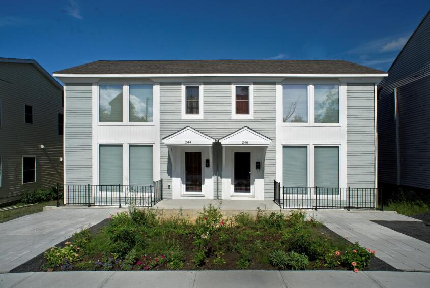 Habitat Townhomes Take a Passive Approach to Affordable Housing
