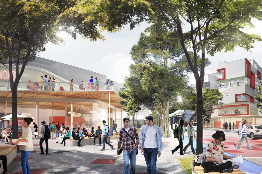 Regeneracion: A vision for the campus and district of the Tecnologico de Monterrey, Mexico