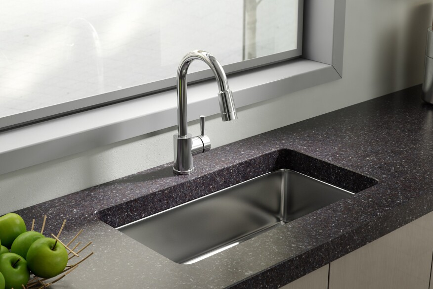 Kitchen faucet, multifamily kitchen, multifamily faucet