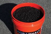 Asphalt repair for cold weather