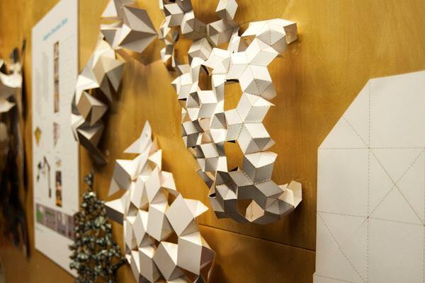 The Adaptive Structural Skins cluster cited origami as one of its inspirations for building a 2-meter-square, retractable and continuous skin, which the team first modeled digitally.