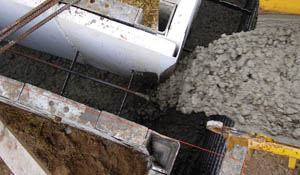 Exterior insulation systems can be incorporated during the form setup and casting operation.