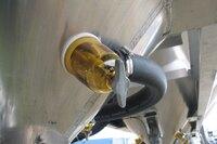 Disk Fluidizer/Aerator for Dry Bulk Trailers
