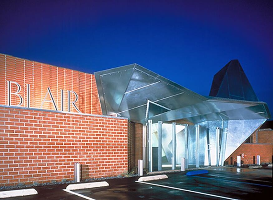 Blair Graphics office, Santa Monica, Calif., completed in 1999.