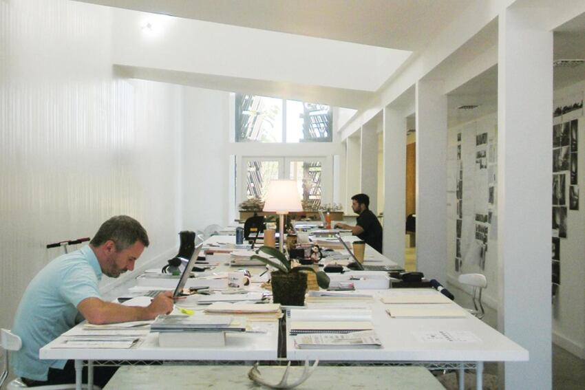 De Leon & Primmer Architecture Workshop designs new studio space as well as places to live