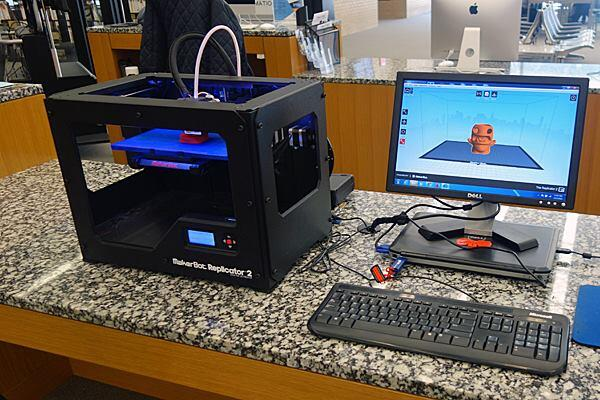 It took the Makerbot Replicator 2X 3D printer at the Martin Luther King Jr. Memorial Library in Washington, D.C. three hours to print our 4-inch-tall, hollow pen and pencil holder.