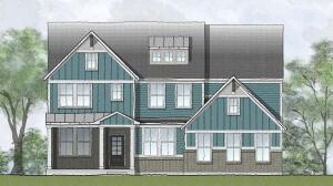 The Vanderburgh is one of the homes available in the Traditions and Heritage at Elliott Farm.