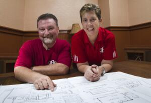 Grady and Diane Portelli, Quality Home Renovators, St. Petersburg, Fla.