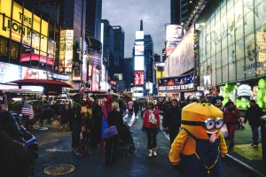 Times Square and the Reality of Public Spaces