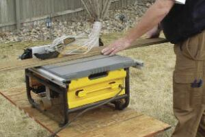 Safer Job-Site Table Saw