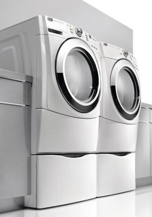 Smart Dryer: Your next set of Whirlpool laundry equipment may be compatible with the smart grid of advanced electrical distribution.