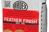 Ardex + Feather Finish