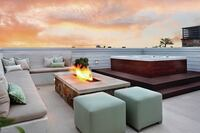 Rooftop Spa Over Newport Harbor is a Real Looker