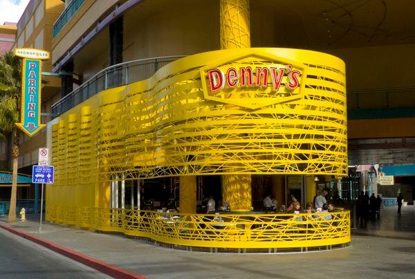 SITE's flagship diner for Denny's in Las Vegas.