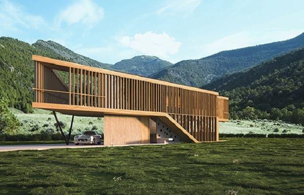 The Folk House by Spora Architects