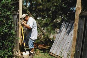 Repairing Wooden Fences