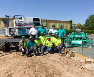 Much of the firm's success stems from the long experience of the contractor's employees. Some foremen have as much as 40 years of dedicated service and almost every foreman has risen through the ranks of the company to eventually lead their own crew.