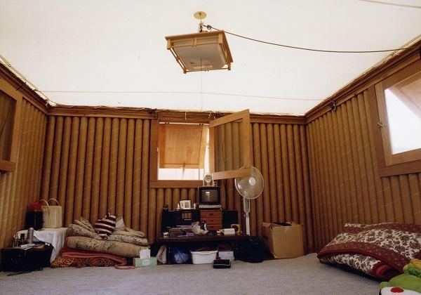 Paper Log House, Kobe, Japan, 2005.