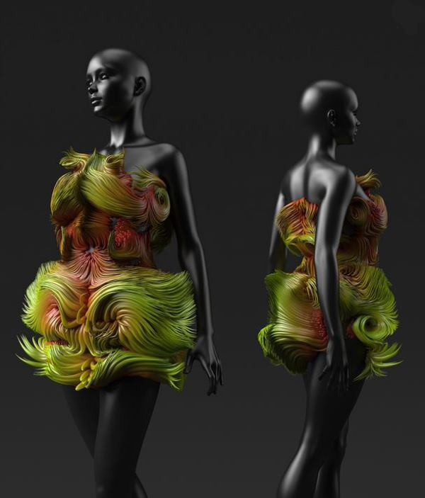 A rendering of conceptual wearables designed by MIT researchers to help sustain life in hostile environmental conditions.