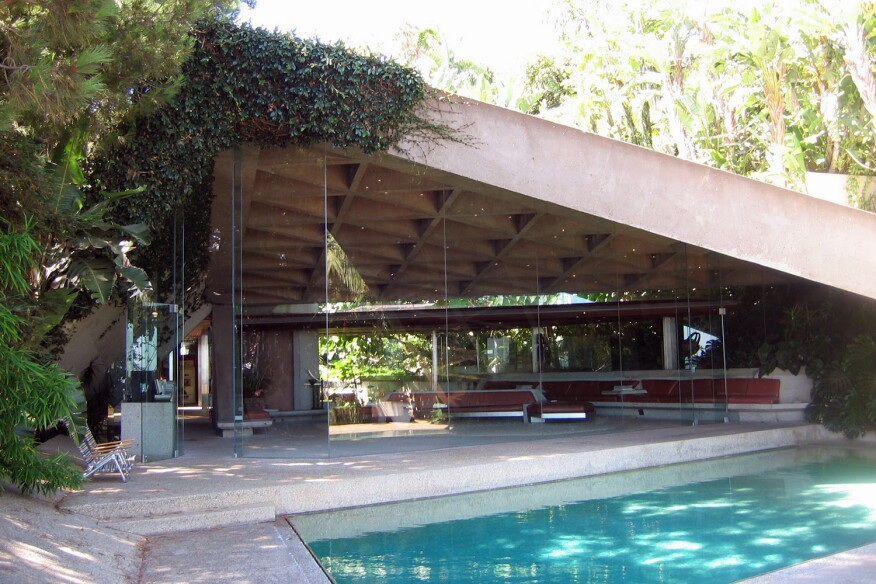 Sheats House, by John Lautner