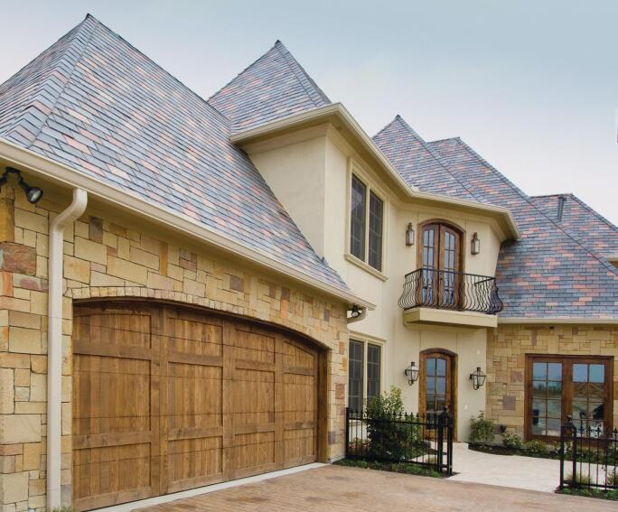 Tapco Group InSpire Roofing Composite Slate Tile